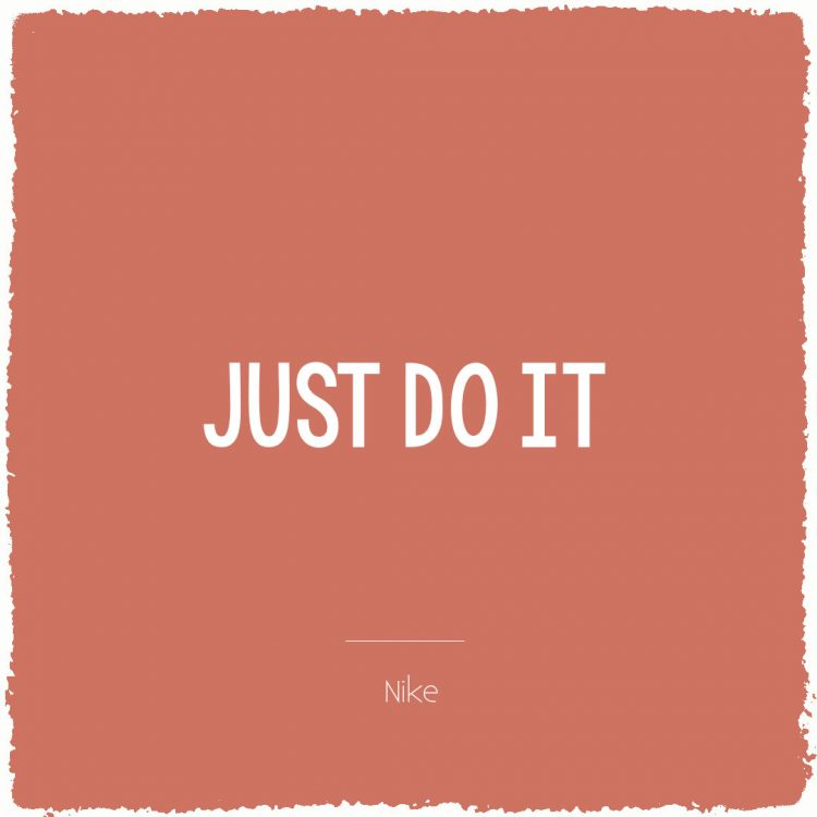 Just do it | Bijzonderdag