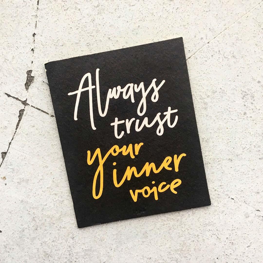 Always trust your inner voice | Bijzonderdag